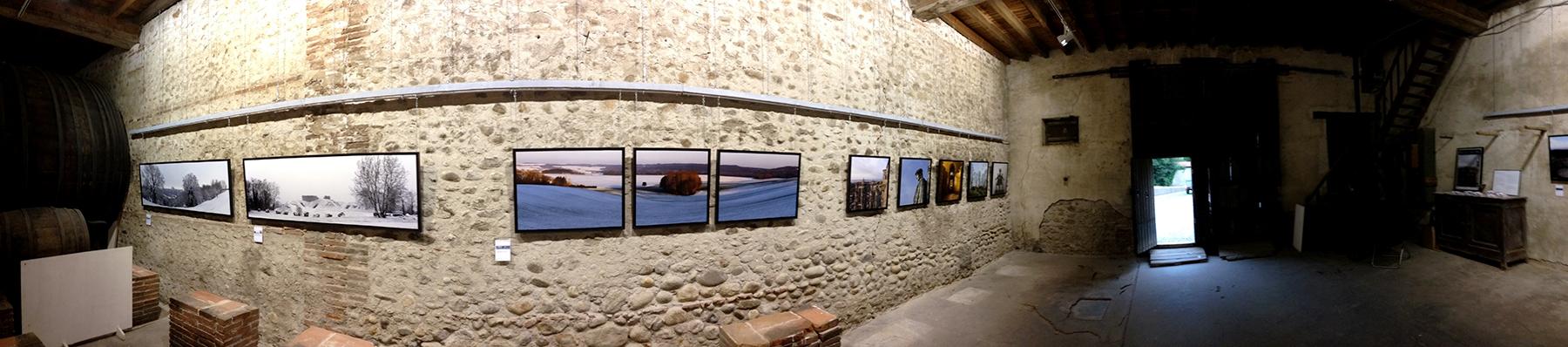 Une vue de l'Expositon Yvon HAZE  à Villeneuve de la Riviere